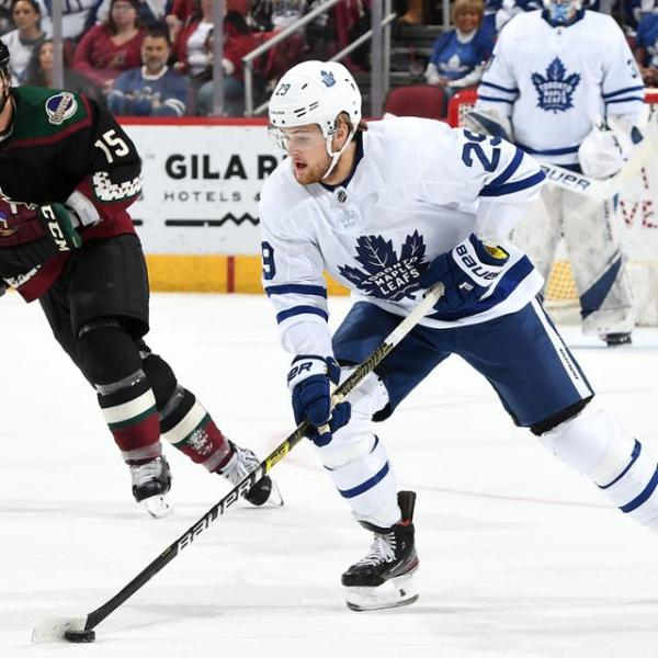 Leafs vs Coyotes