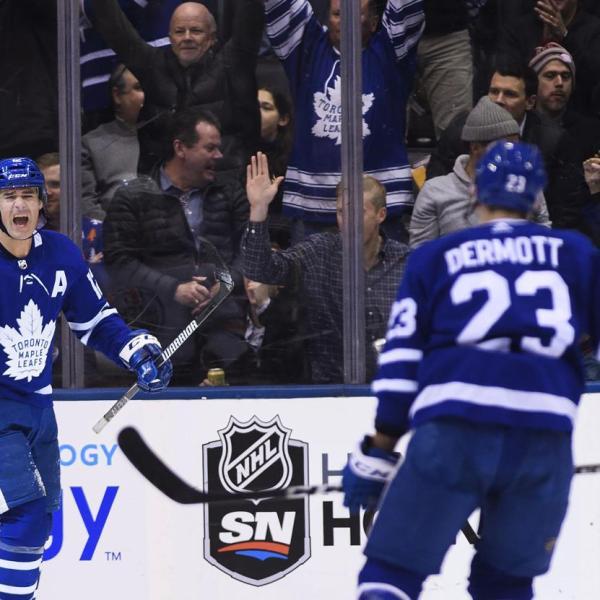 Leafs vs Oilers