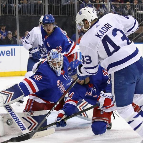 Leafs vs Rangers 2