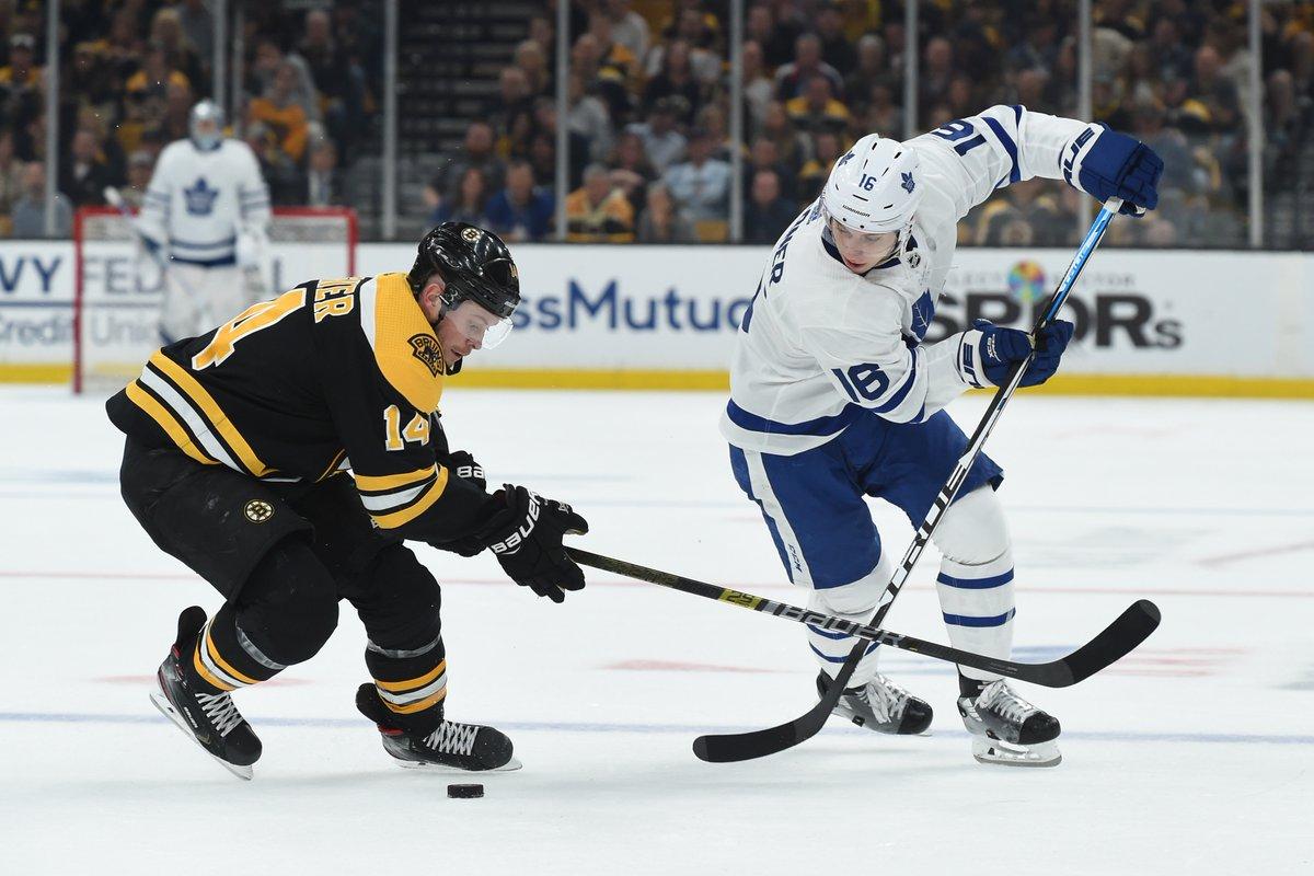 Leafs vs Bruins