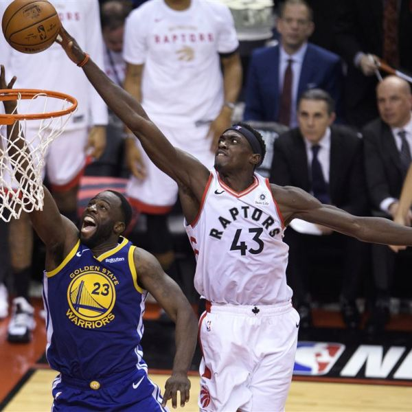 Raptors vs Golden State 1