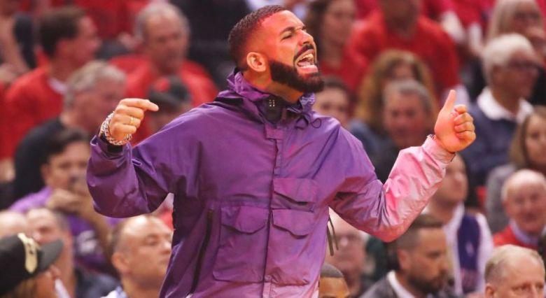 Drake in Stone Island Jacket