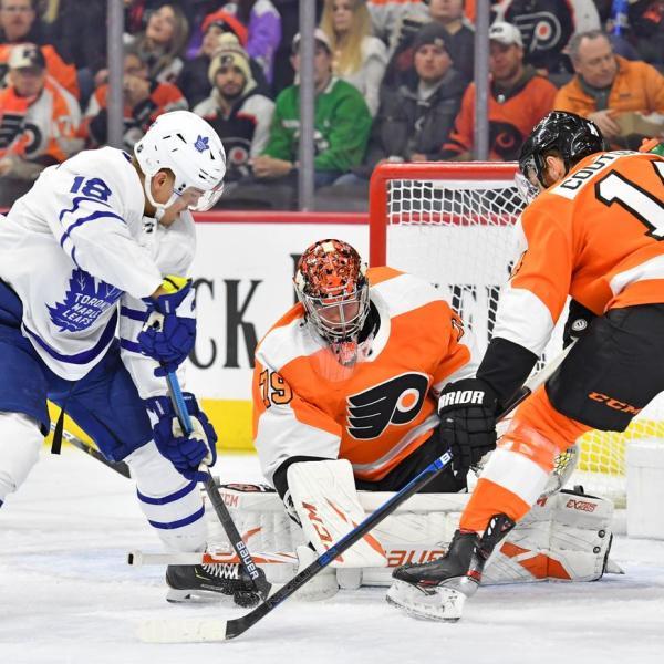 Maple Leafs vs Flyers