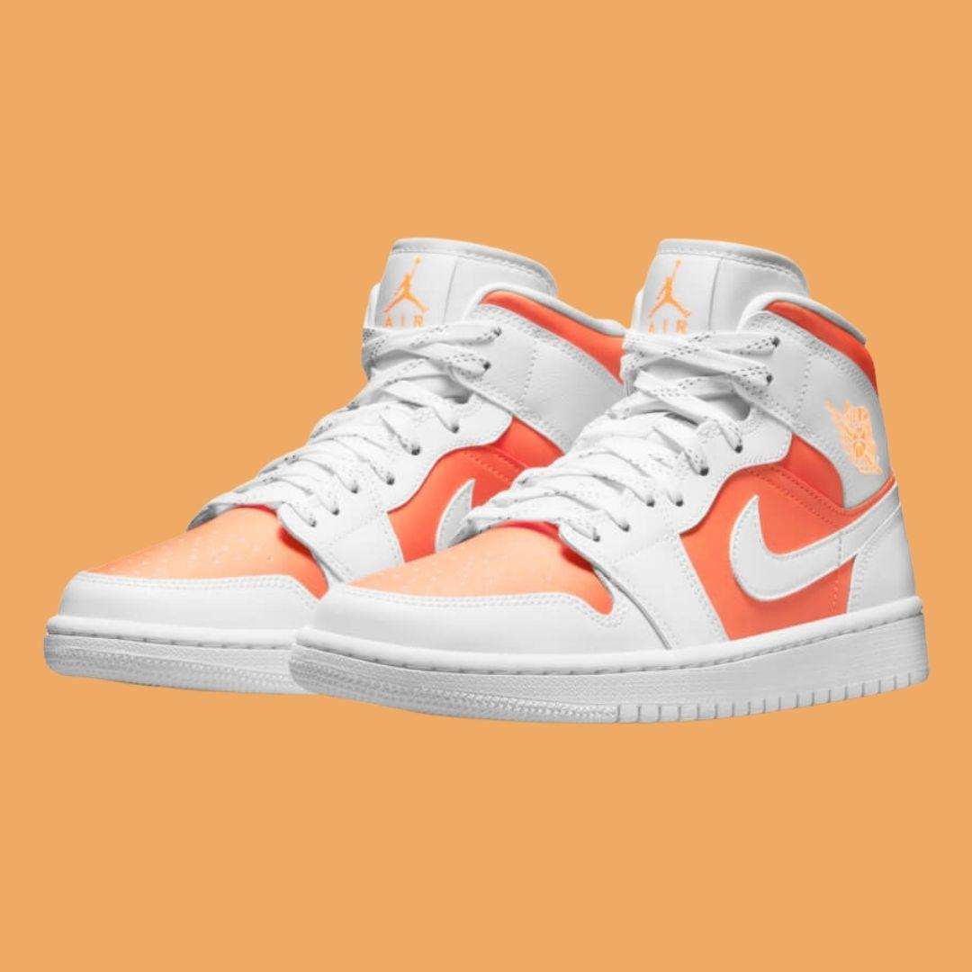 Nike Air Jordan 1 Mid Bright Citrus-2