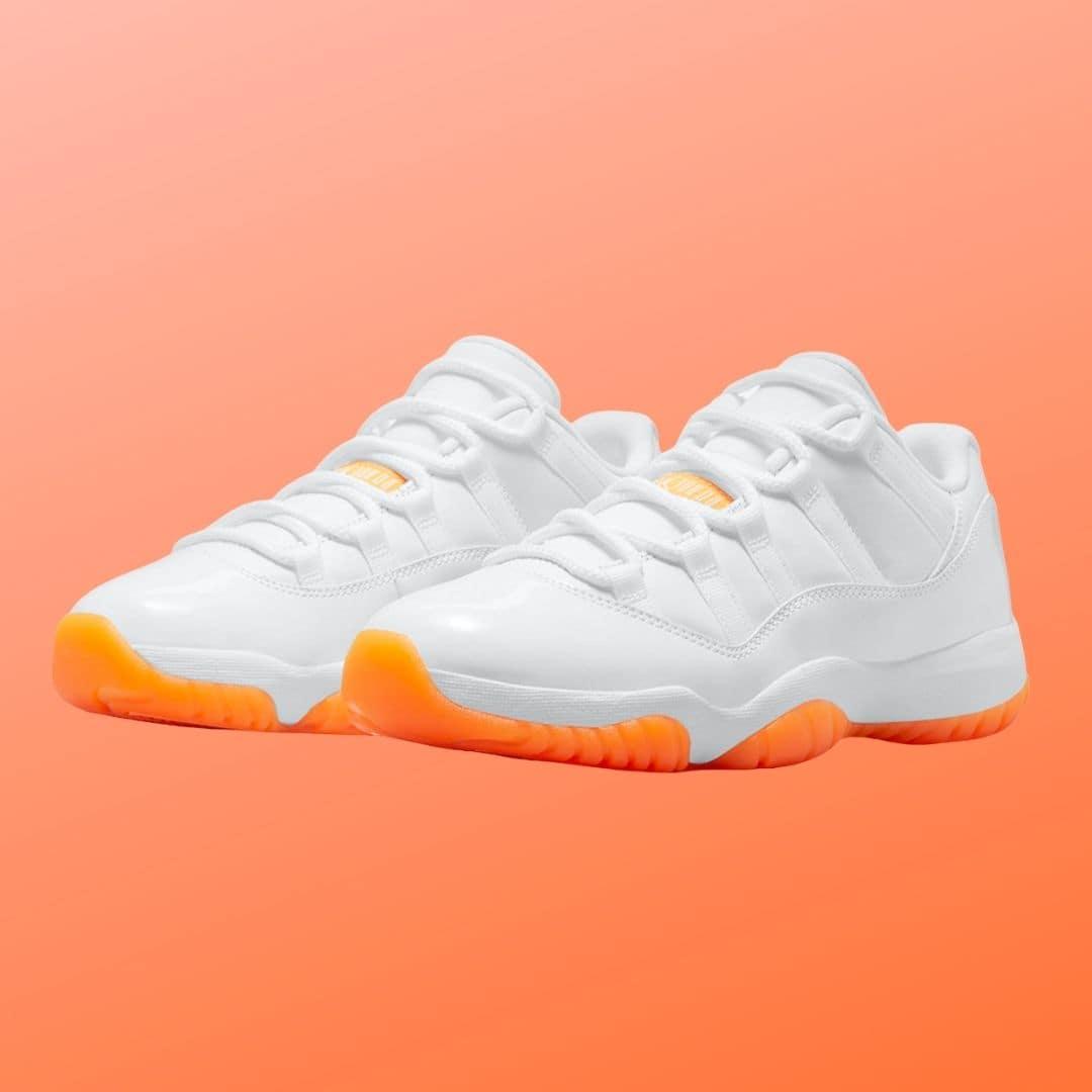 Air Jordan 11 Low Bright Citrus-2