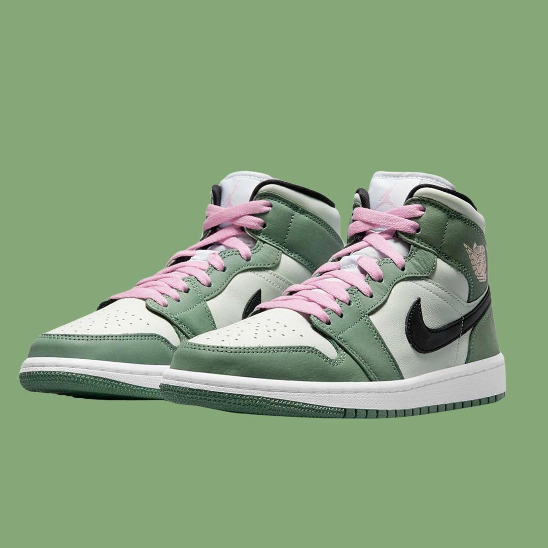 Jordan 1 Mid Durch Green-2