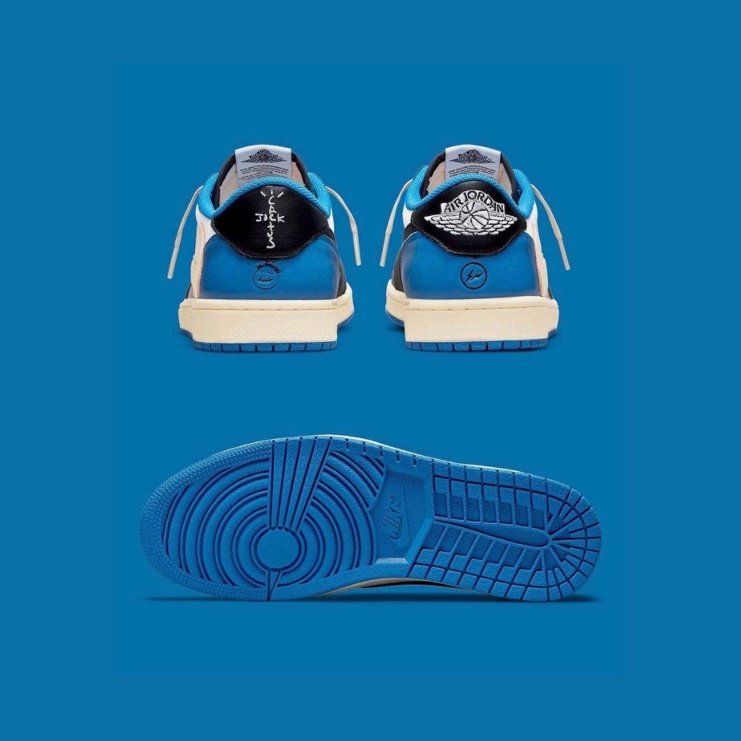 Jordan 1 Low Travis Scott x Fragment Military Blue-2