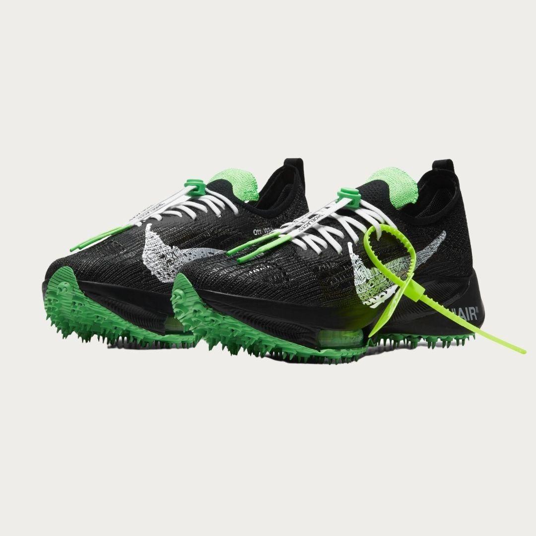 Off White x Nike Air Zoom Tempo NEXT% Black-2