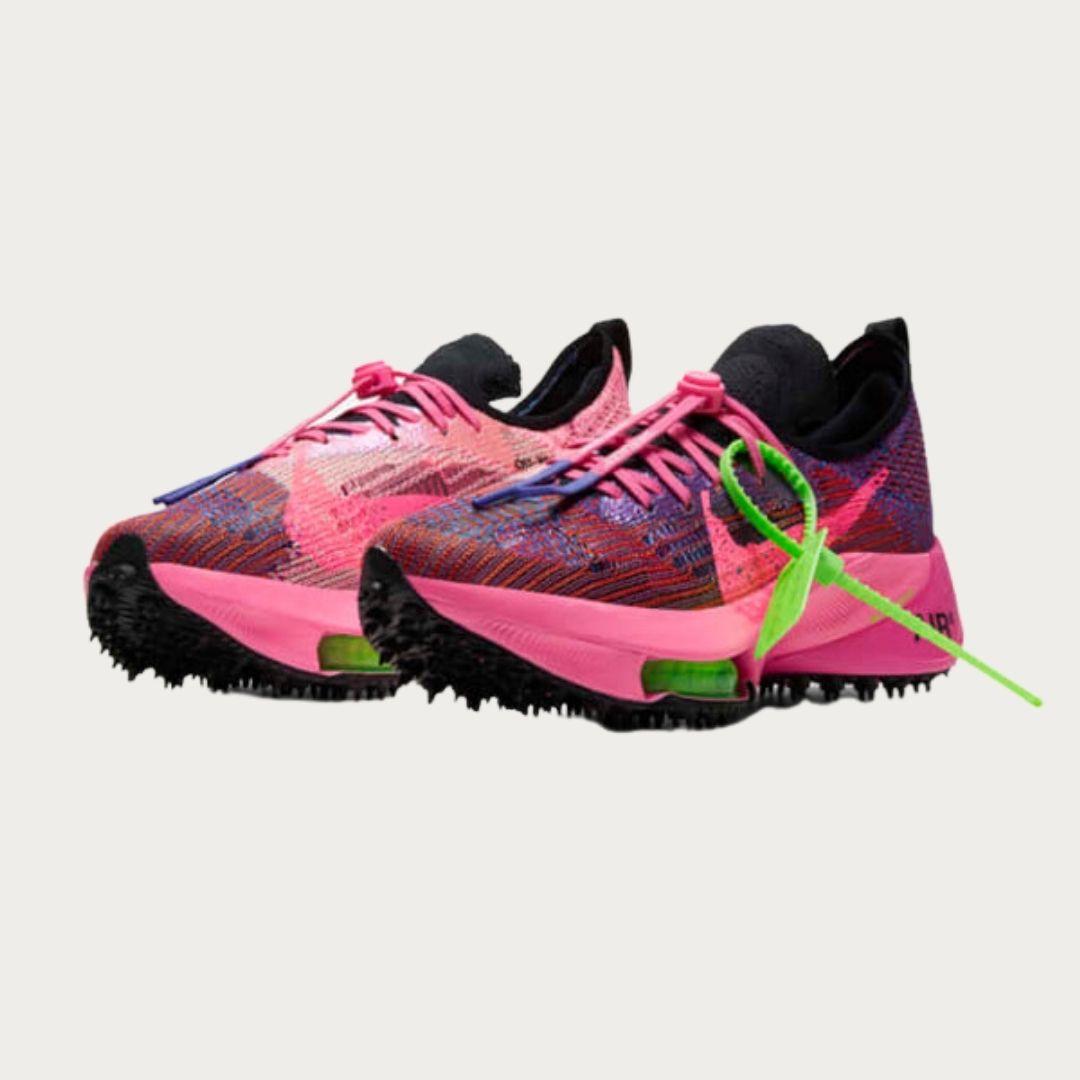 Off White x Nike Air Zoom Tempo NEXT% Pink Glow-2