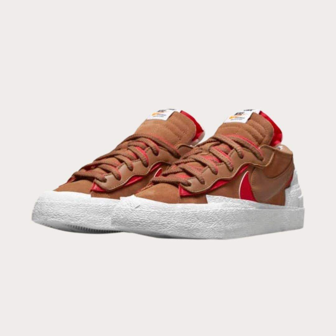 Sacai x Nike Blazer Low British Tan-2
