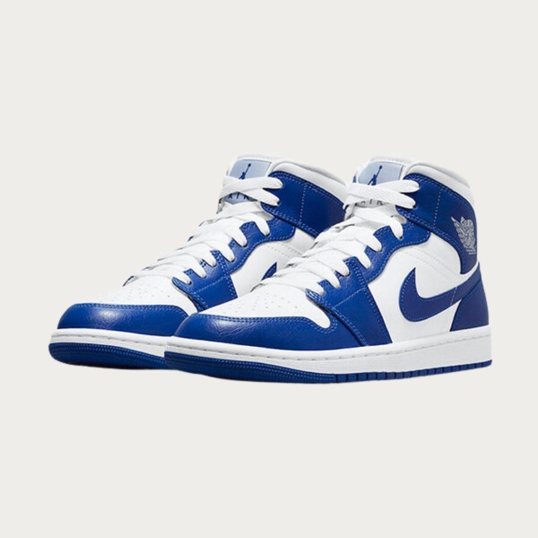 Nike Air Jordan 1 Mid Kentucky Blue-2