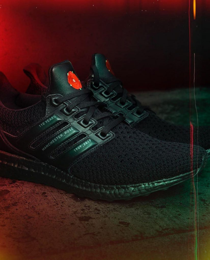 """Manchester United x adidas UltraBOOST """"Rose"""""""