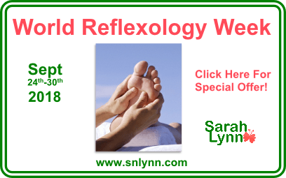 World Reflexology Week 2018