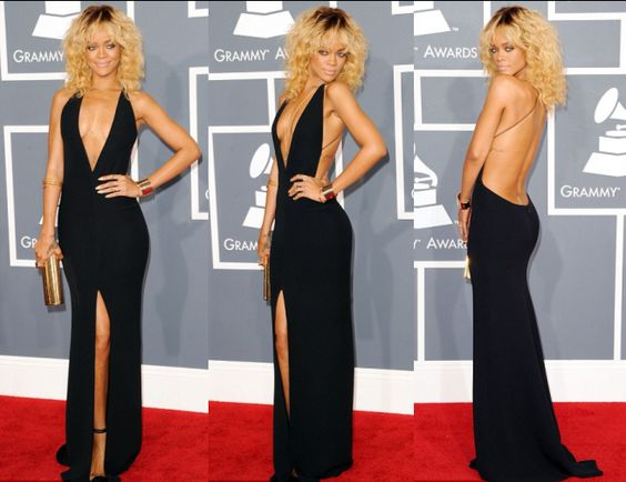 Rihanna's Grammy Dress From 2012 Was Armani