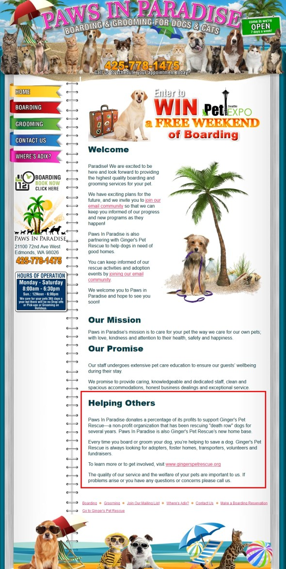 Boarding - Grooming - Dogs - Cats 2015-08-30 06-32-48