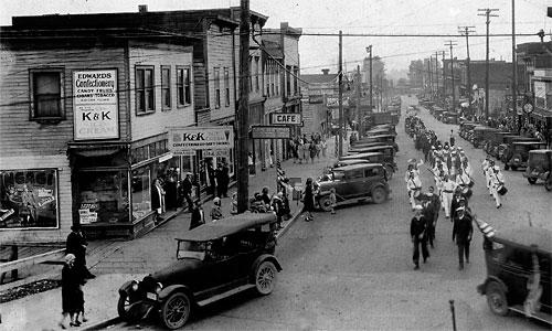 901 First Street Building circa 1935