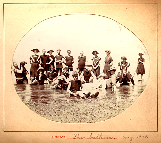 """The Bathers, 1900"" Ferguson Family Album"