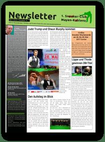 Newsletter April 2016, Ausgabe 8