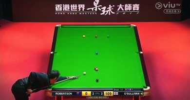 Ronnie O'Sullivan's 143 Break vs Neil Robertson | Hong Kong Masters 2017 (Final)