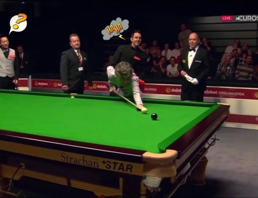 Ronnie O'Sullivan Lets 'Pitch Invader' Woman Pot The Black
