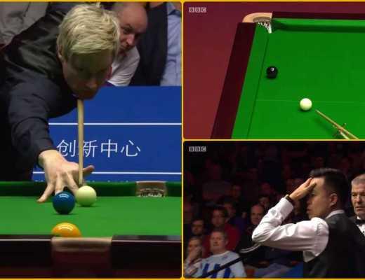 Neil Robertson vs Marco Fu | Dramatic Frame