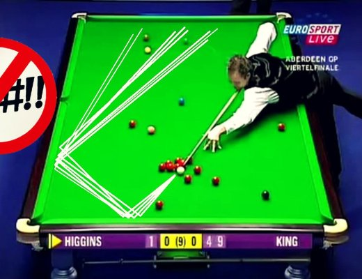 John Higgins 12 Consecutive 'Foul and a Miss' Record
