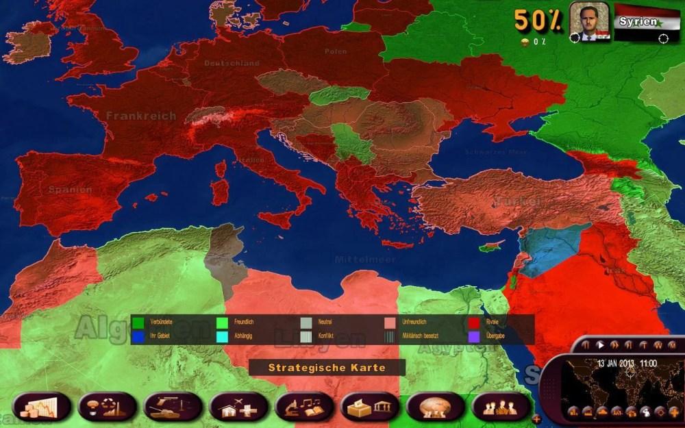 Politik am PC? Politik Simulator 3 - Masters of the World (1/3)