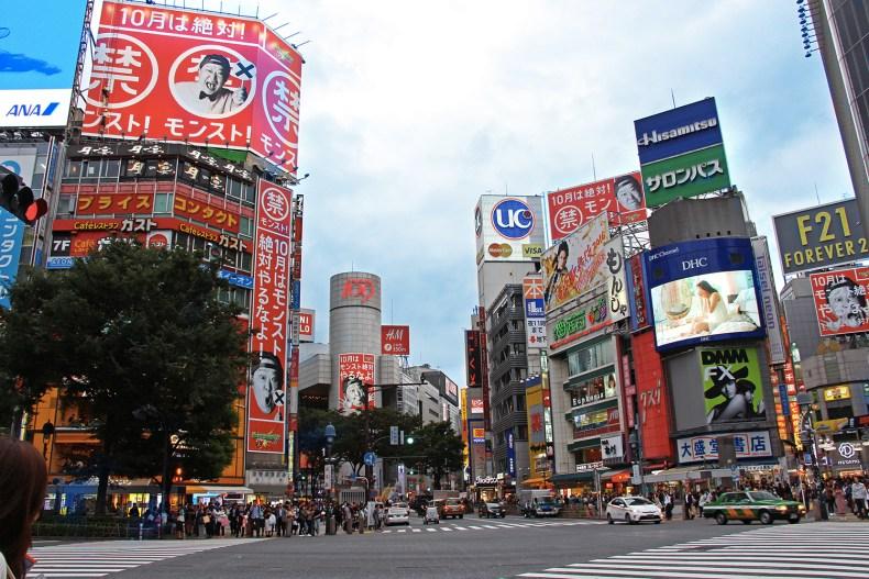 Shibuya Japon