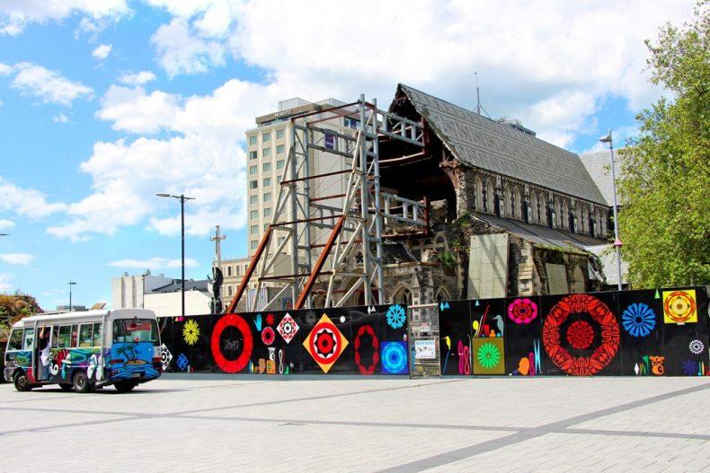 Tremblement de terre Christchurch Nouvelle Zelande