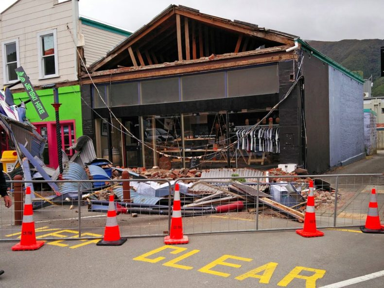 Tremblement de terre en Nouvelle Zelande