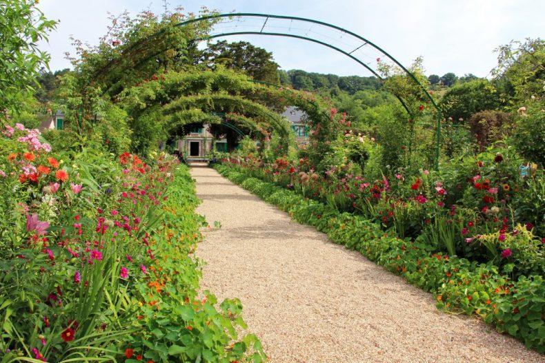 Le jardin de Monet à Giverny - Normandie