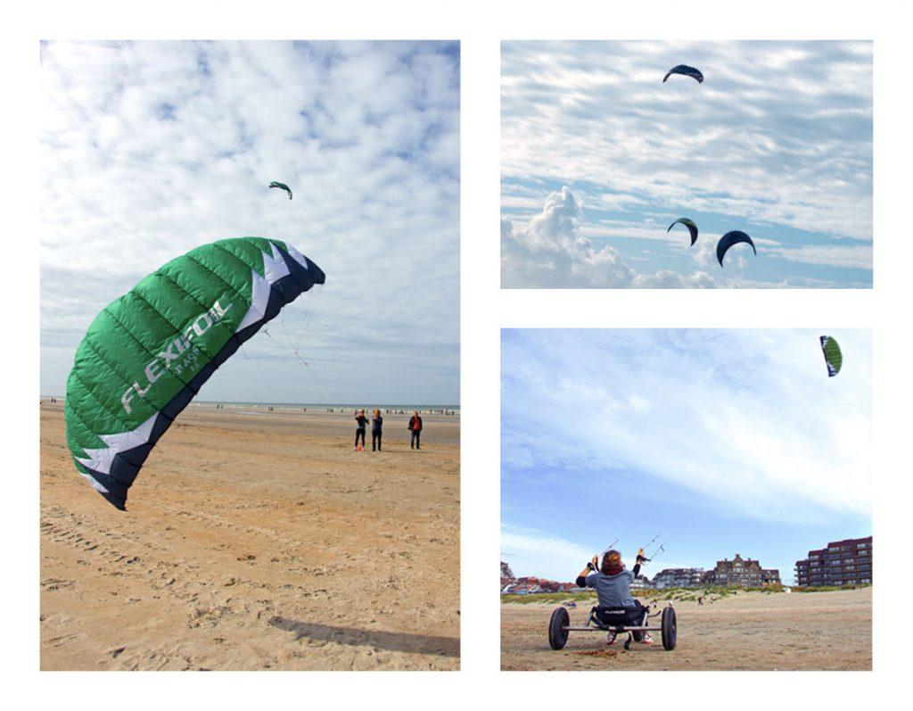 Kite surf Ostende Belgique