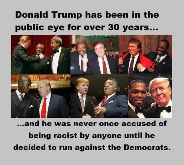 Image result for trump is not racist