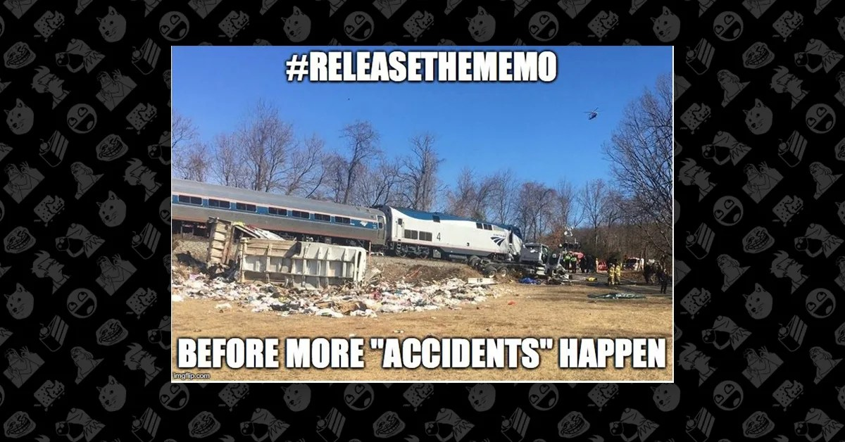 Did A Train Carrying Gop Congressmen Crash Due To A Deep State Plot