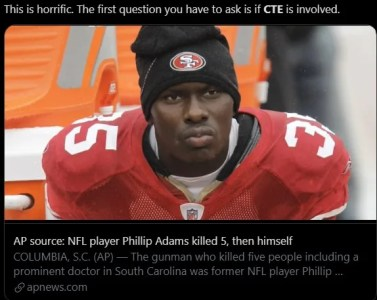 Did Phillip Adams Have CTE? | Snopes.com