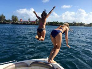 The Girls having fun