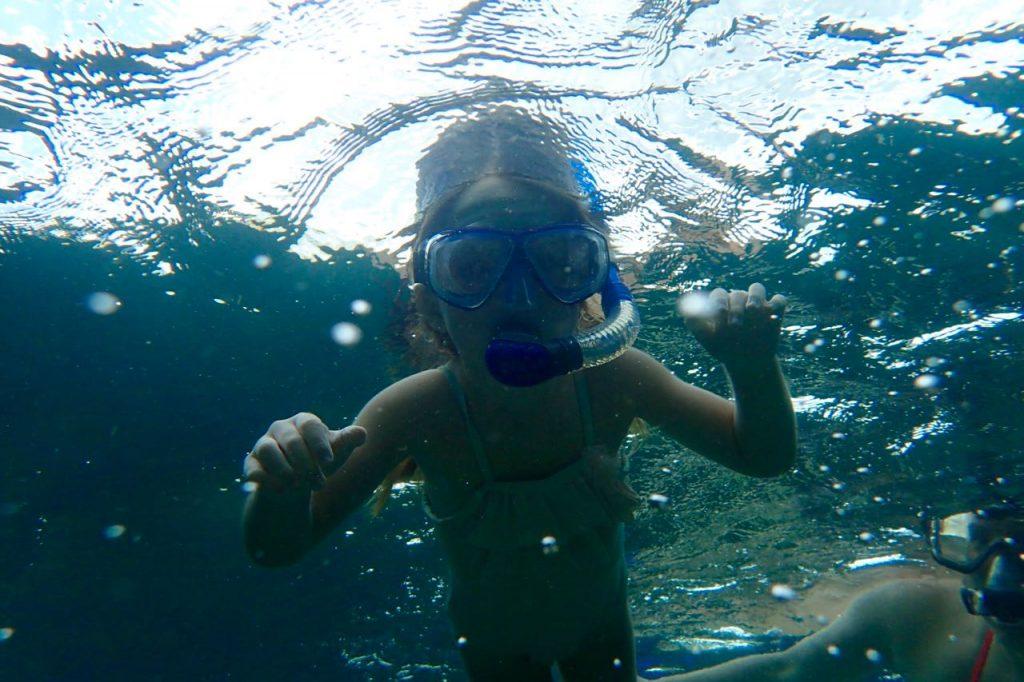 5 year old Snorkel