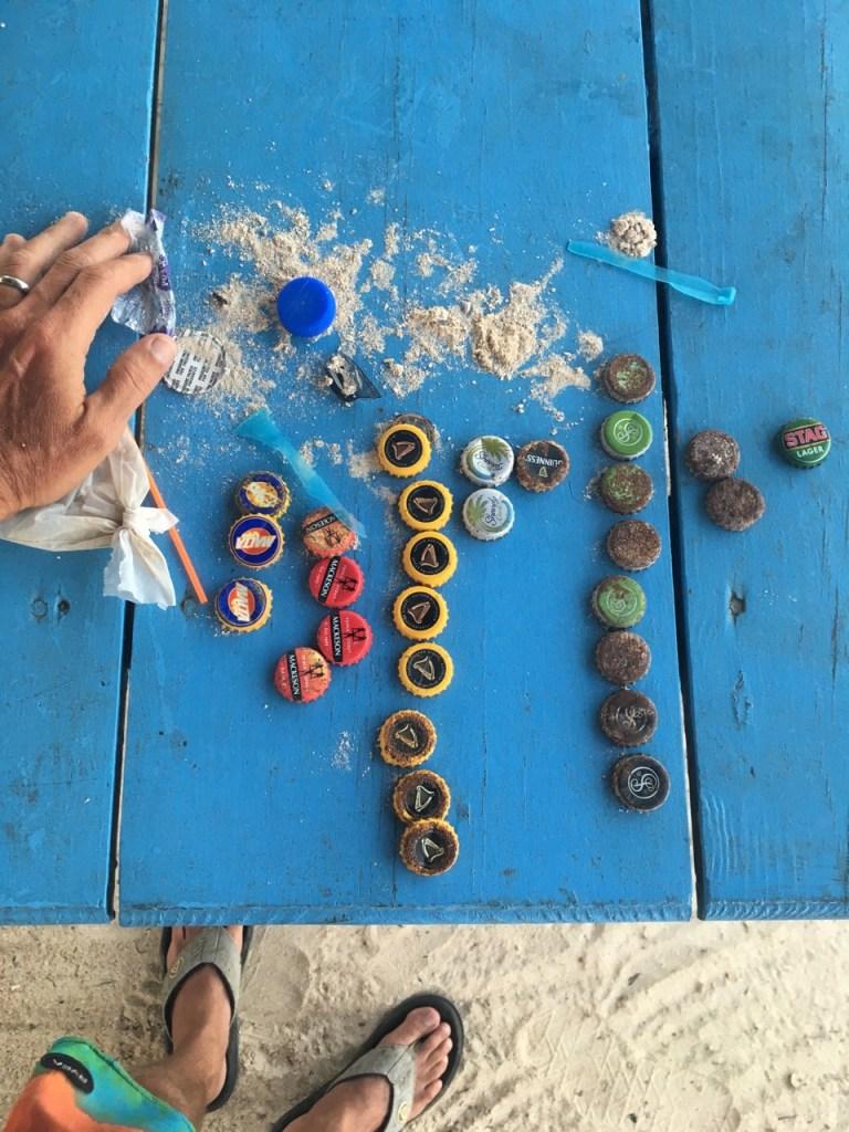Two Minute Beach Clean Tobago