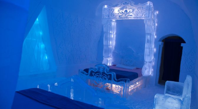Ice Hotel in Quebec City