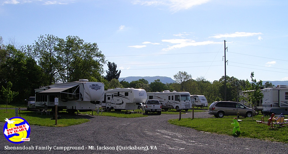 Our visit at Shenandoah Family Campground   (200 Miles from Lenhartsville, PA ) 168 Industrial Park Road, Mt. Jackson (Quicksburg), VA