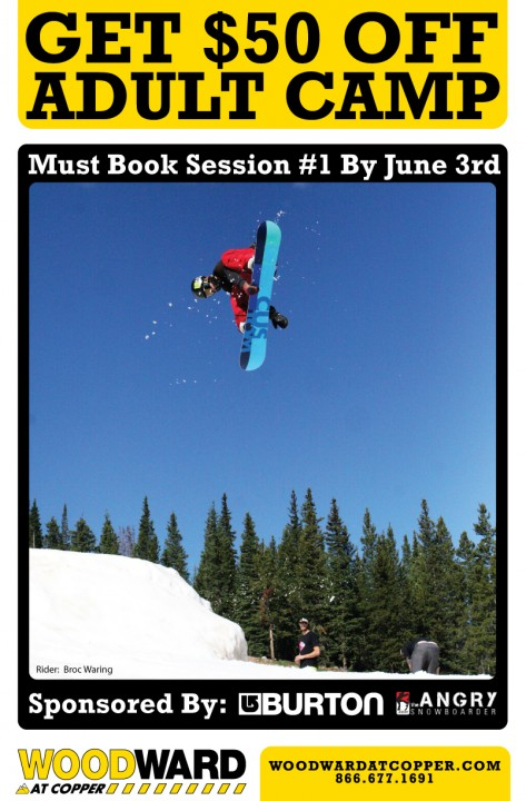 Woodward at Copper: $50 Off Adult Week