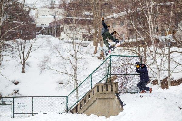 Louif Paradis Snowboarding