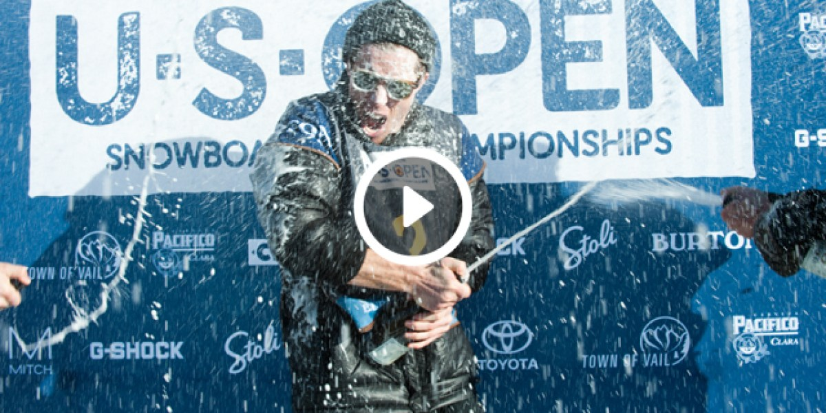 Shaun White Wins 2017 Burton US Open Halfpipe Final - Video