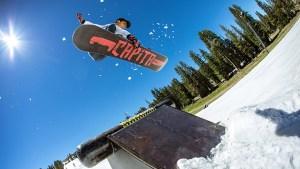 Woodward Tahoe Summer SNowboarding, Mary Walsh