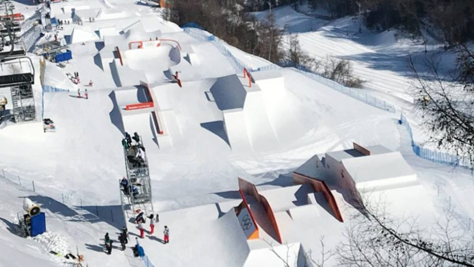 Snowboard Olympia