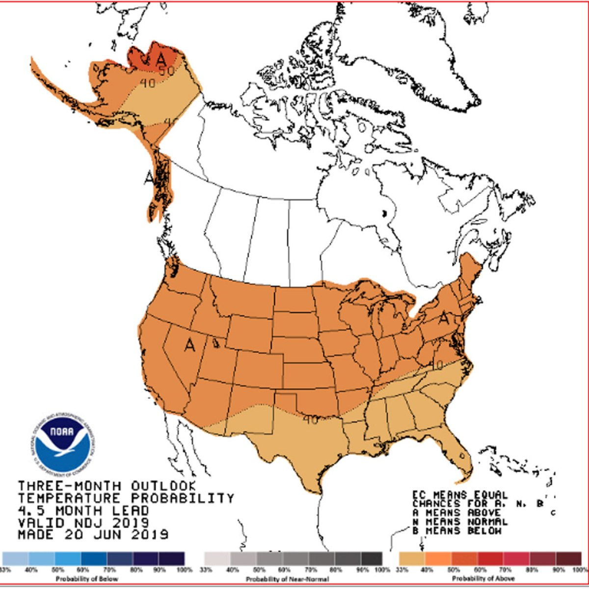 2020 Winter Predictions—Early Season Weather Forecast Released by NOAA | Snowboarder Magazine