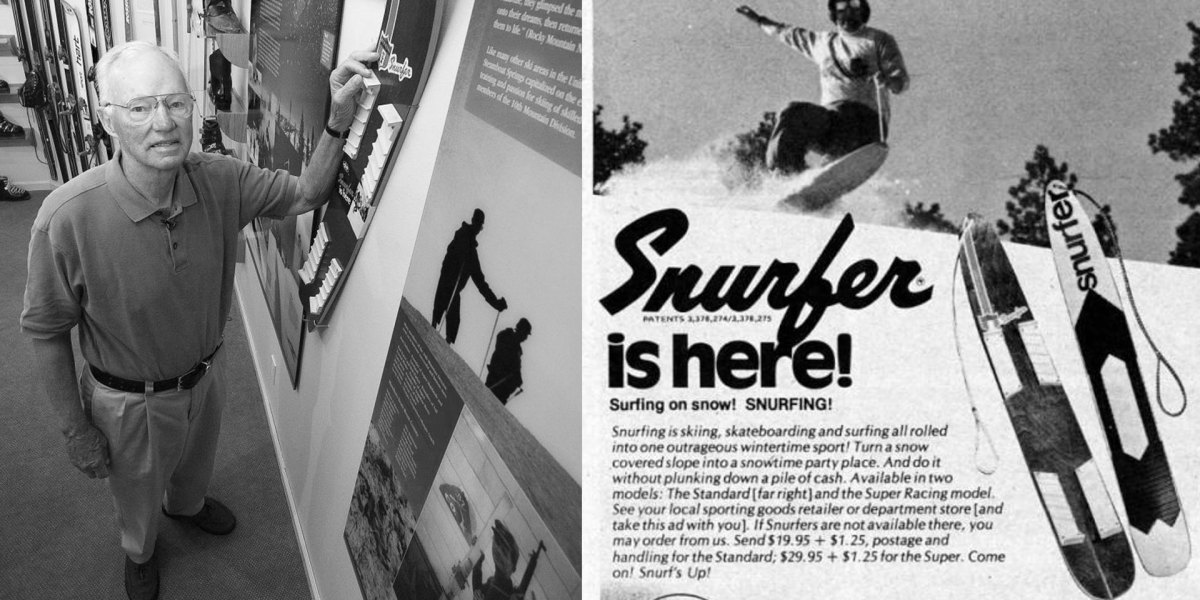Sherman Poppen, Snurfer Inventor and Forefather of Snowboarding, Passes Away At 89 | Snowboarder Magazine