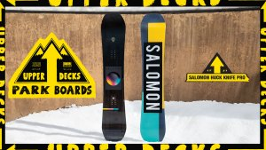 2020 Upper Decks Park Boards: Salomon Huck Knife Pro