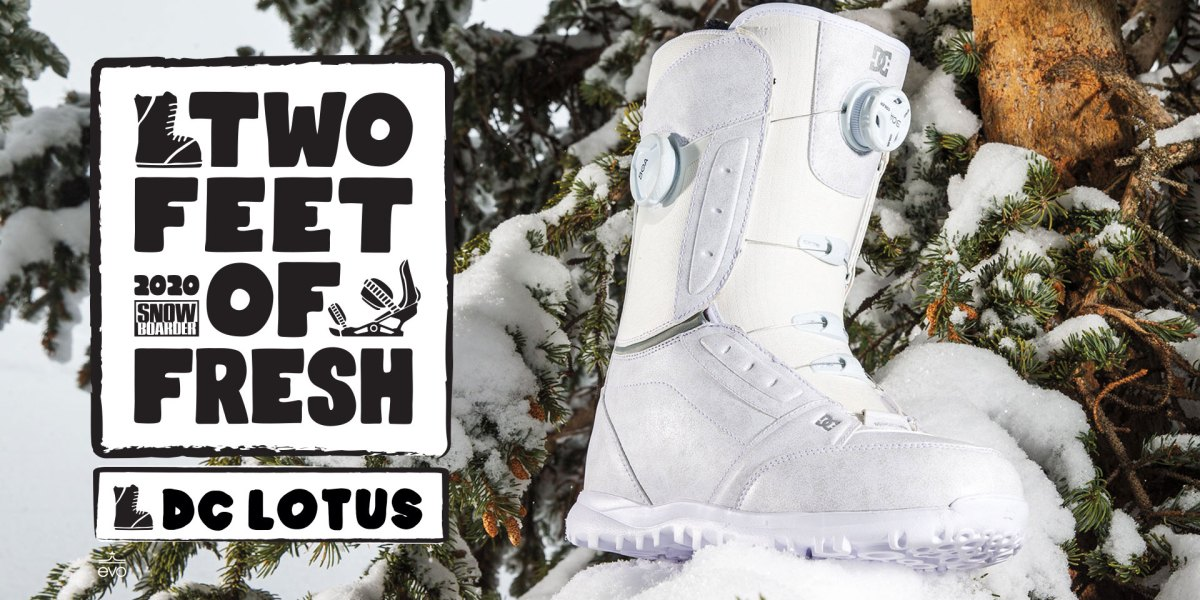 Two Feet of Fresh—2020 DC Lotus Boot Highlights | Snowboarder Magazine