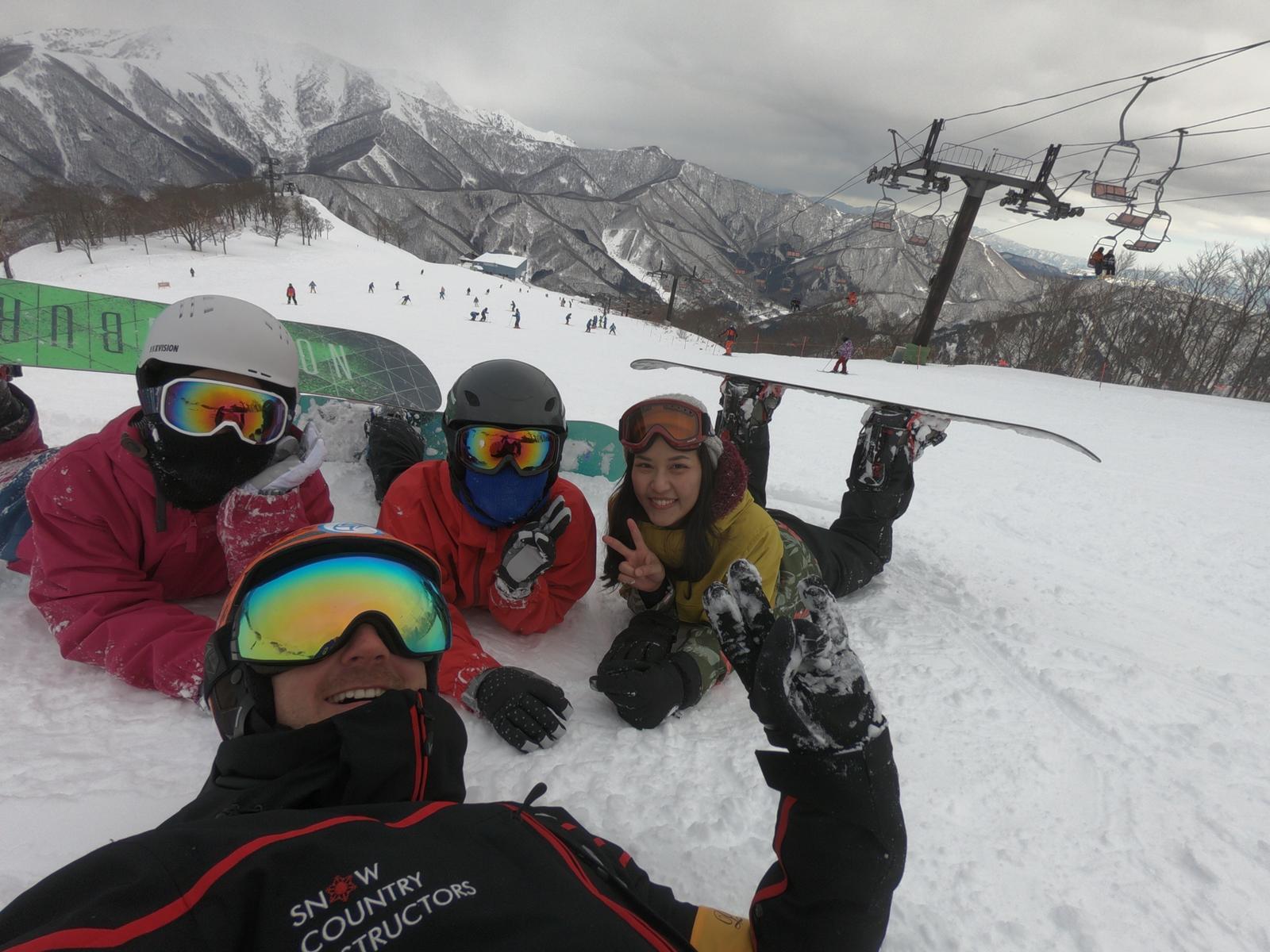 在湯澤最好的滑雪場?
